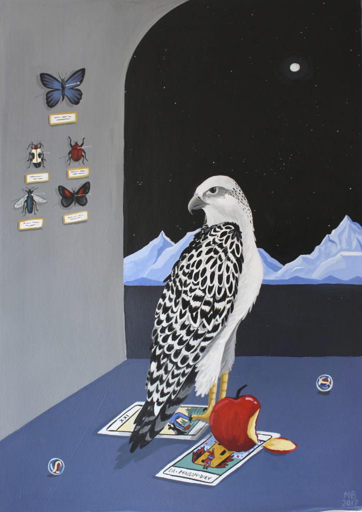 Obra de Mercedes Bellido. Imagen cortesía de Plastic Murs.