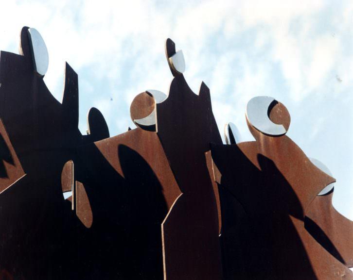 Obra de Nassio. Imagen cortesía del Colegio de Arquitectos de Valencia.