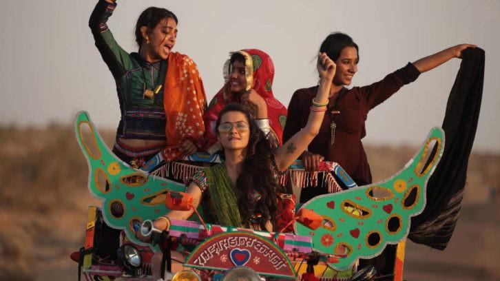 Fotograma de 'La estación de las mujeres'. Imagen cortesía de la Filmoteca.