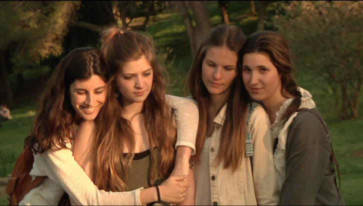Fotograma de 'Les amigues de l'agata'. Imagen cortesía de la Filmoteca.