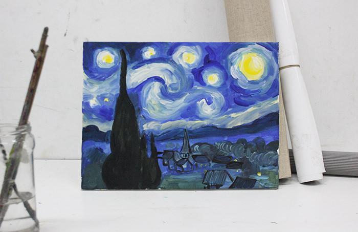 Noche estrellada - Van Gogh Miércoles 22 de marzo 2017 - 20:00 h.