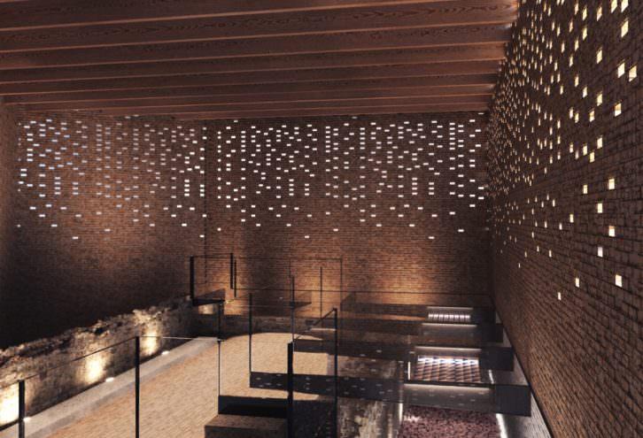 Vista interior del futuro Bombas Gens. Imagen cortesía de Fundació Per Amor a l'Art.