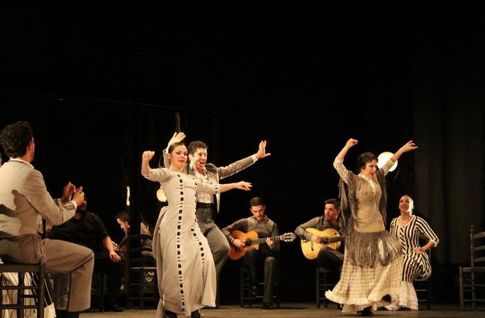 'Aquel Silverio', del Ballet Flamenco de Andalucía. Imagen cortesía del Teatro Principal.