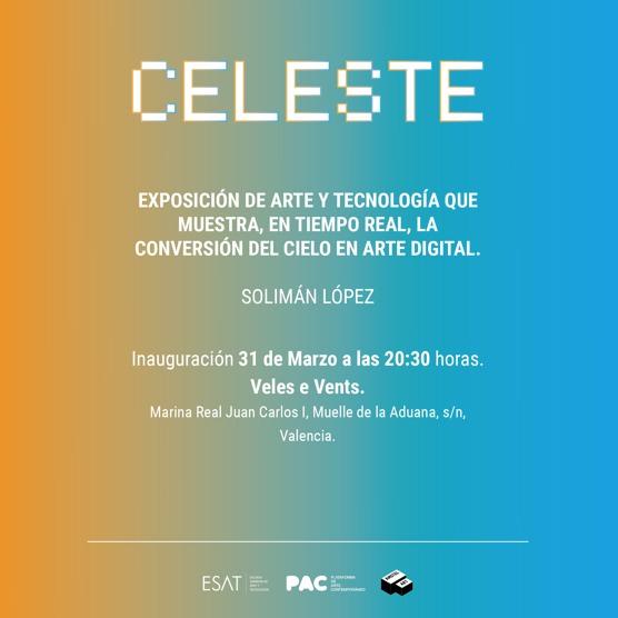 Tarjeta de presentación de Celeste en Veles e Vents.