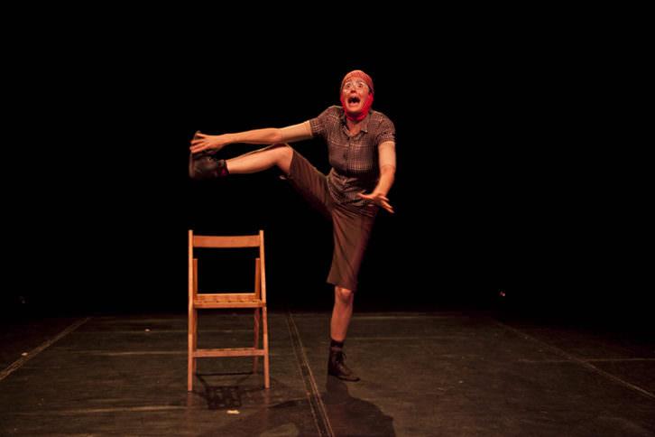 Patrícia Pardo en 'El fandango de Marx'. Fotografía de Jorge Bellver por cortesía de la compañía.