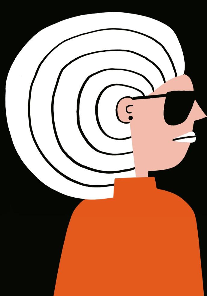 Ear Hair, de Cachetejack. Imagen cortesía de La Cabina.