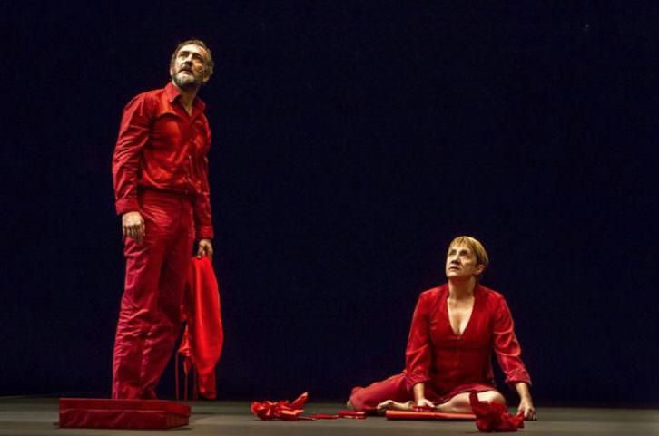 El cartógrafo, de Juan Mayorga. Fotografía de Ceferino López. Teatre El Musical.