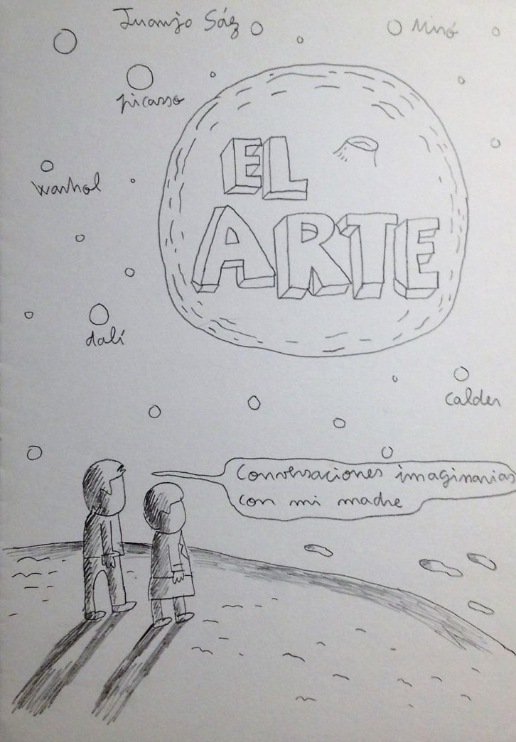Obra de Juanjo Sáez. Imagen cortesía de Pepita Lumier.