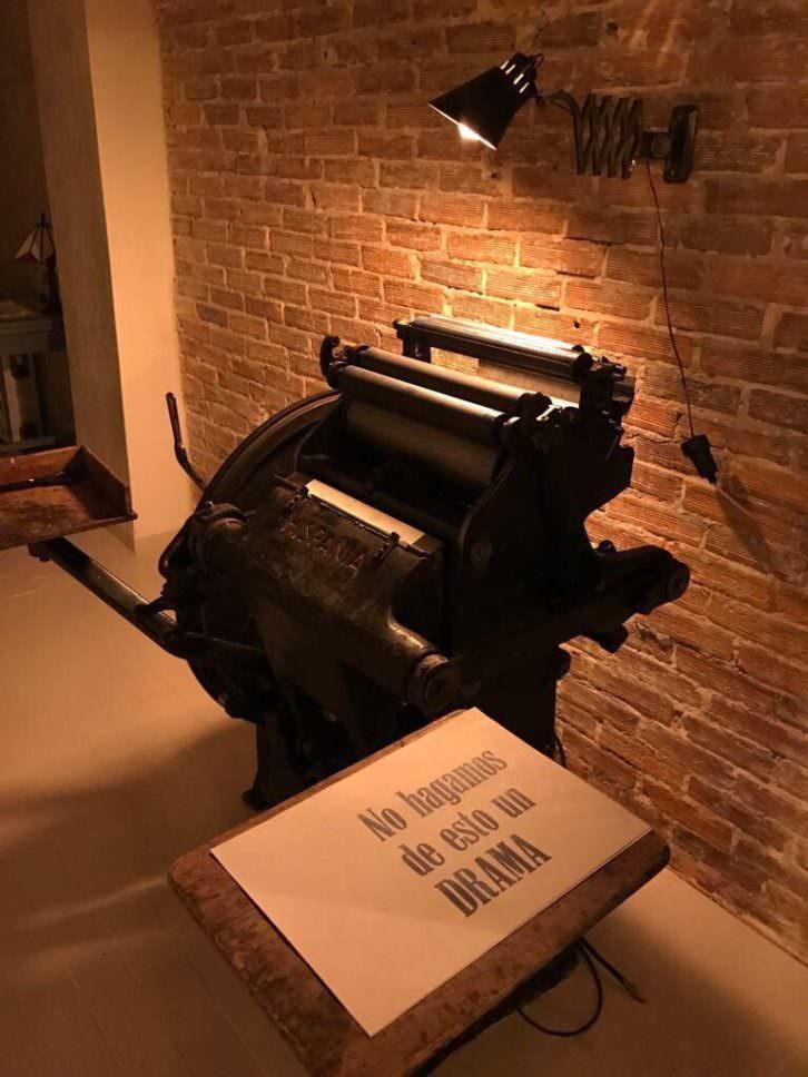 Imprenta. Erredakzioa.