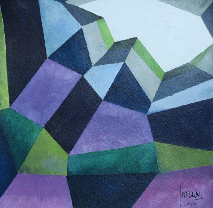 La soledad del abismo, de Javier Calvo. Imagen cortesía de Galería Cuatro.