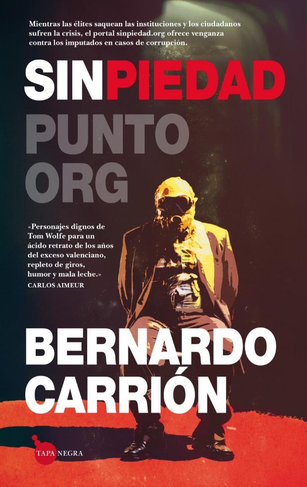 Portada del libro 'Sin piedad', de Bernardo Carrión, en la editorial Almuzara.