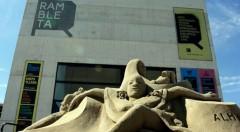 Escultura en Rambleta.
