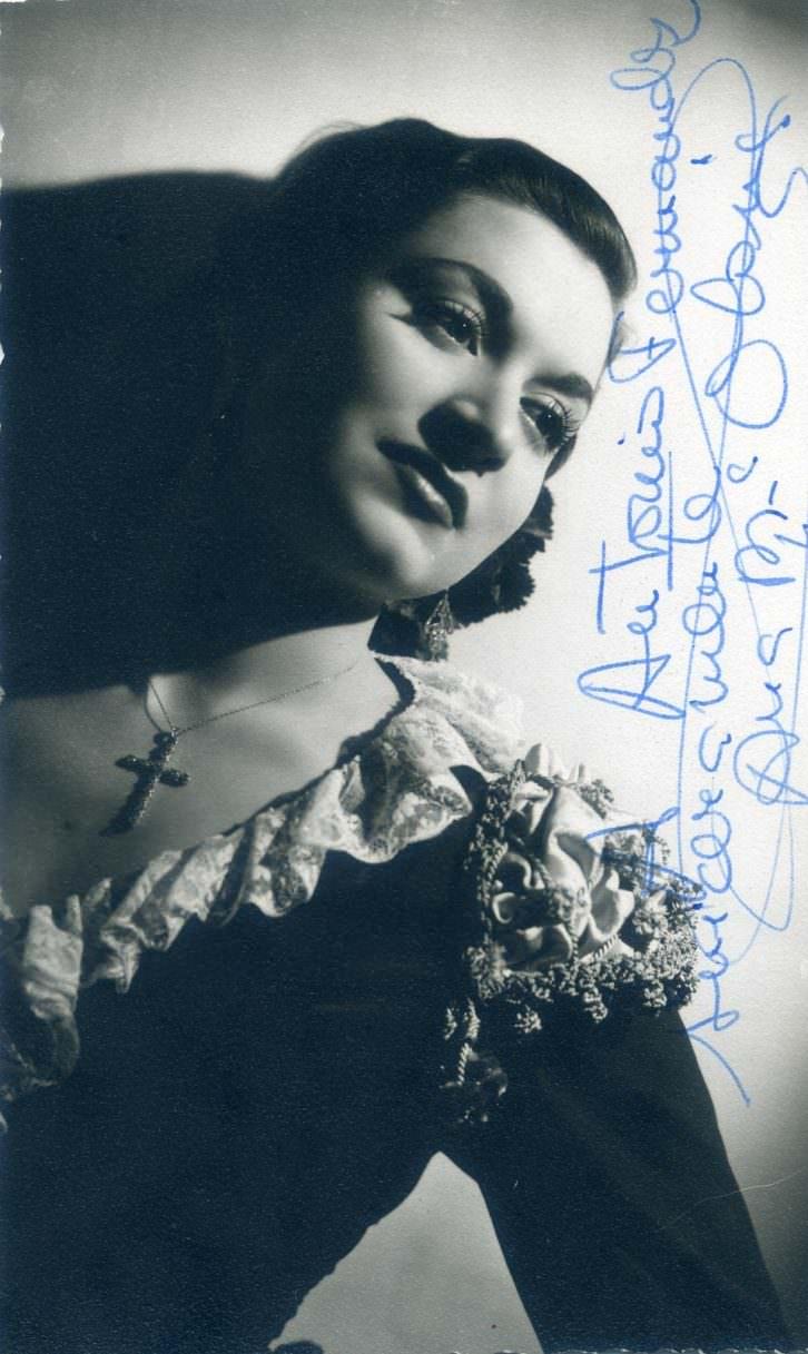 La soprano valenciana Ana María Olaria.