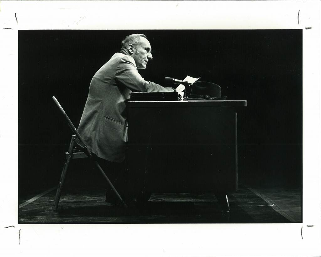 Imagen del escritor norteamericano y miembro fundamental de la Generación Beat, William Burroughs,  que será objeto de la exposición 'William Burroughs. Nova Convention'. Fotografía cortesía de los organizadores.