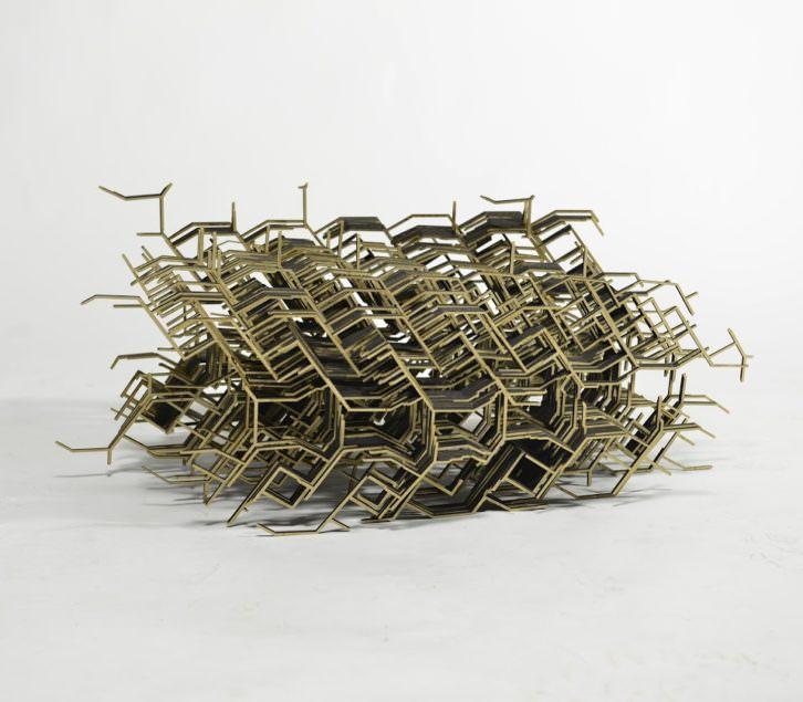 Obra de Urtzi Ibarguen en Fundación BilbaoArte. Imagen cortesía del autor.