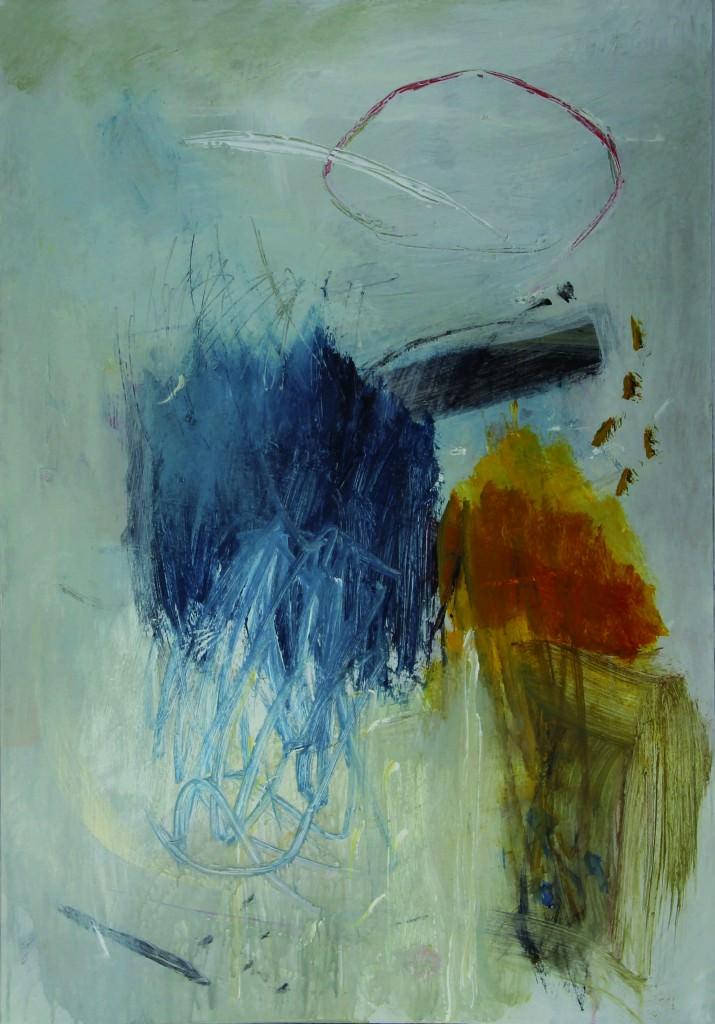 Imagen de una de las piezas presentes en la exposición. Fotografía cortesía de la artista.