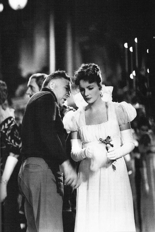 Clarence Brown con Greta Garbo, del libro 'Clarence Brown', de Carmen Guiralt, por cortesía de la autora.