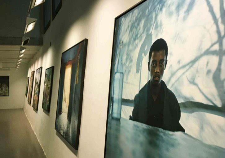 Vista de la exposición 'Etiopía', de Juan Manuel Castro Prieto. Imagen cortesía de OCCC.
