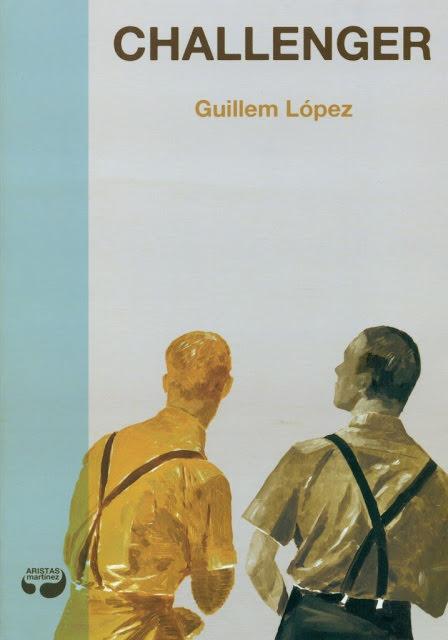 Cubierta de 'Challenger', de Guillem López.