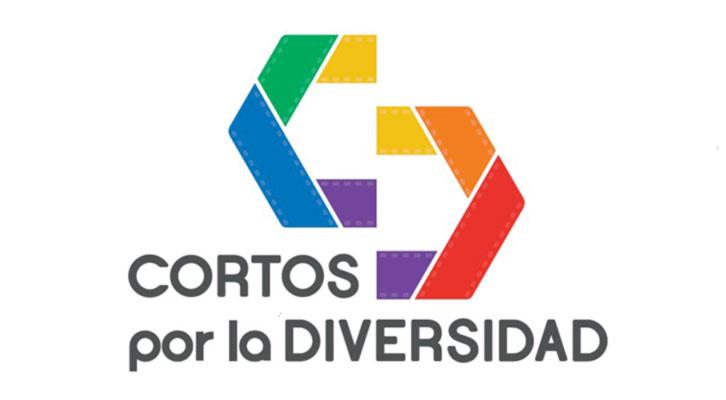 Logotipo del certamen 'Cortos por la Diversidad'.