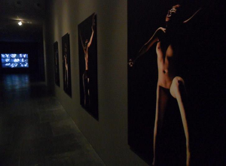 Vista de la exposición de Leonardo Kossoy en Fotográfica del MuVIM.