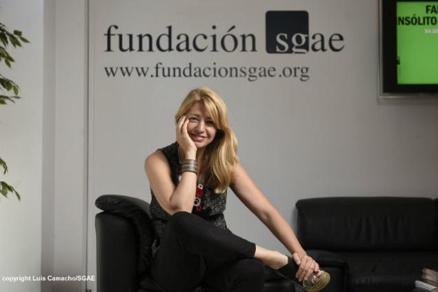 Inés París. Fotografía de Luis Camacho por cortesía de la SGAE.