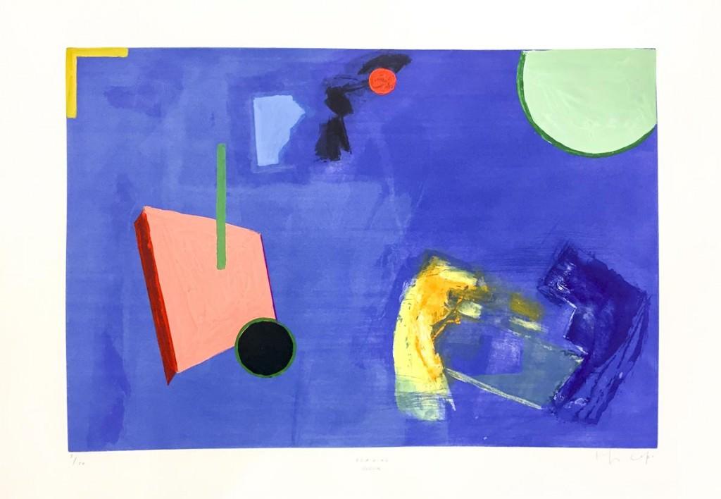 Imagen de la obra 'Seaside', de Joaquín Capa, presente en la exposición. Fotografía cortesía de Galería 9.