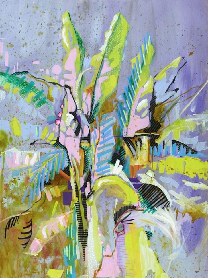 Bananatree, de Julia Benz. Imagen cortesía de Plastic Murs.