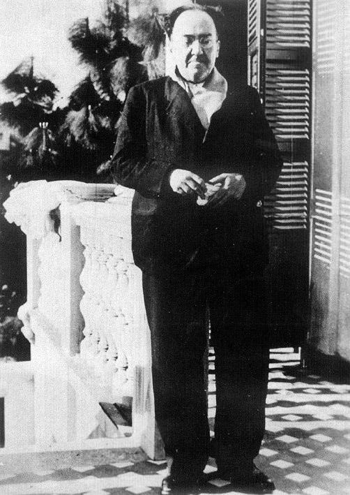 Machado en Villa Amparo. Imagen cortesía de la organización.