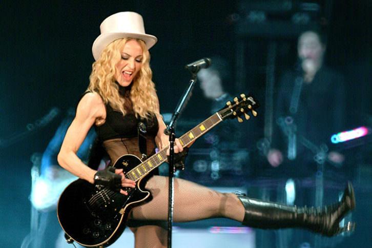 Madonna. Imagen cortesía del Rector Peset.
