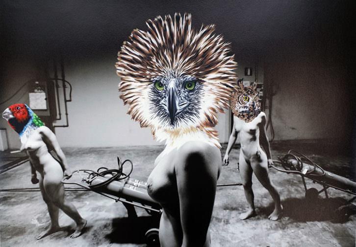 Obra de la exposición 'JOC'. Imagen cortesía de Centre del Carme