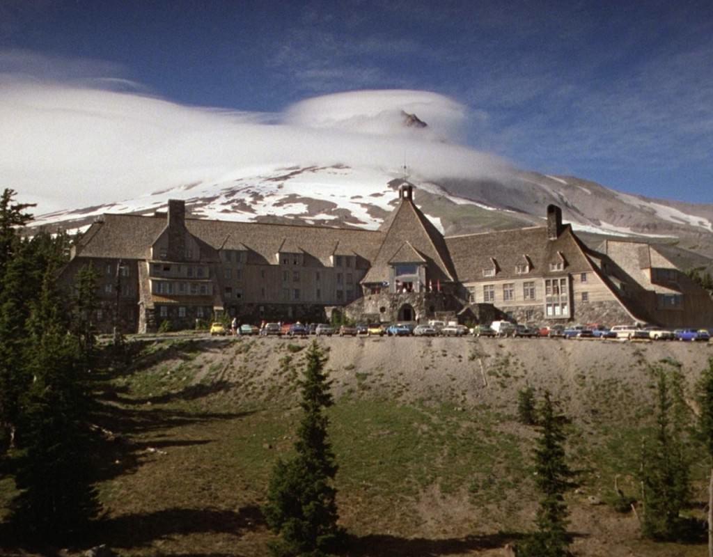 Imagen del ínclito Hotel Overlook, edificación protagónica de 'El Resplandor' (Stanley Kubrick, 1980).