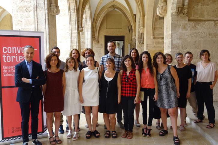 Seleccionados de las convocatorias del Consorsi de Museus de la Generalitat Valenciana. Imagen cortesía del Consorci.