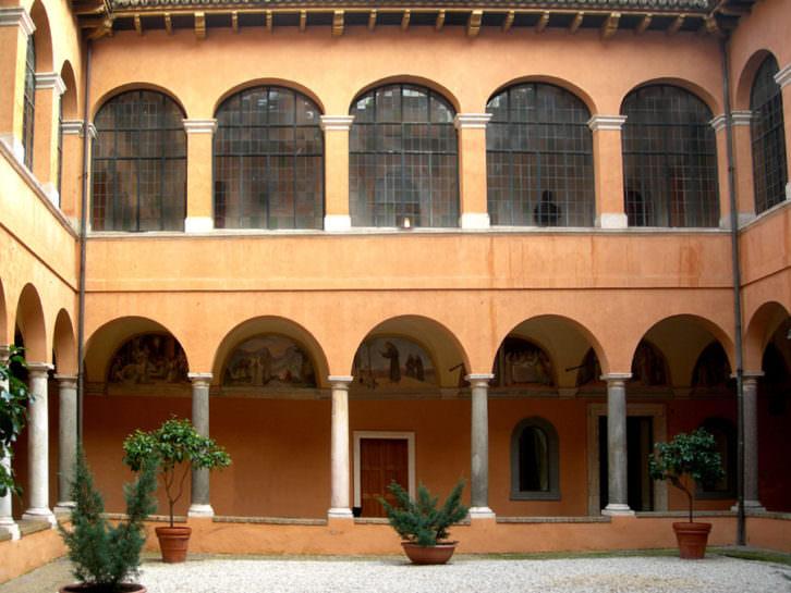 Claustro de la Academia de España en Roma. Convento de San Pietro in Montorio.