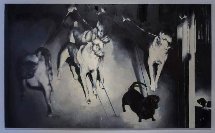Obra de Ana Ciscar. Imagen cortesía de Centre del Carme.