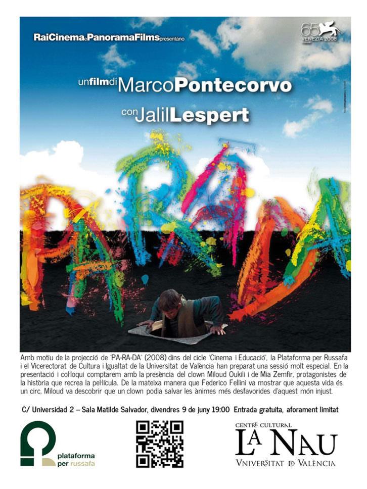 Cartel de 'Pa-ra-da', de Marco Pontecorvo.