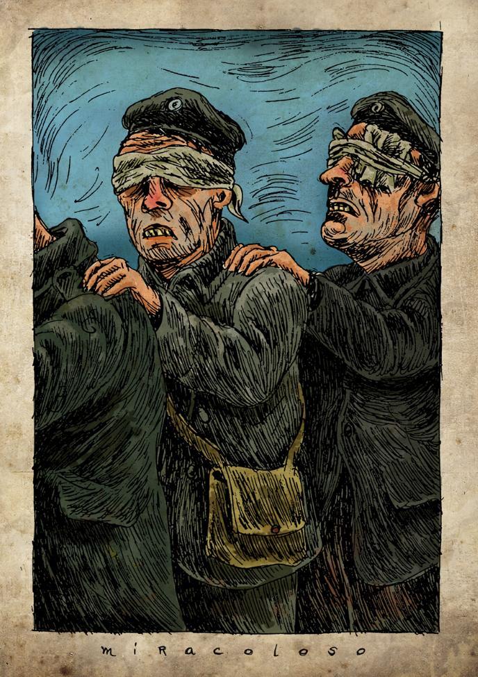 Ilustración de Fernando Fuentes 'Miracoloso'. Imagen cortesía del autor.
