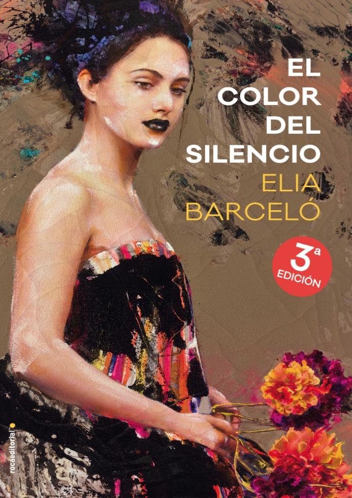 Portada de 'El color del silencio', de Elia Barceló.