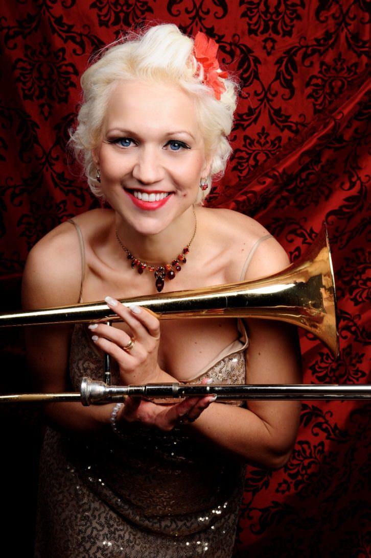 Gunhild Carling. Imagen cortesía del Festival de Jazz del Palau.