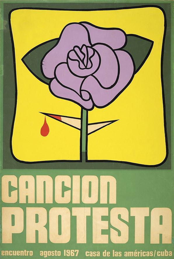 Uno de los carteles de la exposición. Imagen cortesía del MuVIM.
