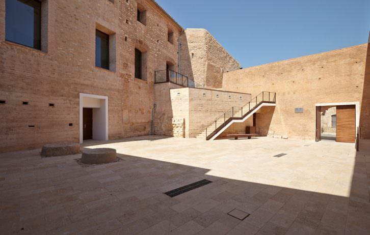 Vista del nuevo Espai d'Art Contemporani El Castell. Imagen cortesía de E CA.