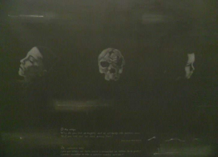 O My Songs, de Xisco Mensua en la exposición 'No Return' de La Nau de la Universitat de València.