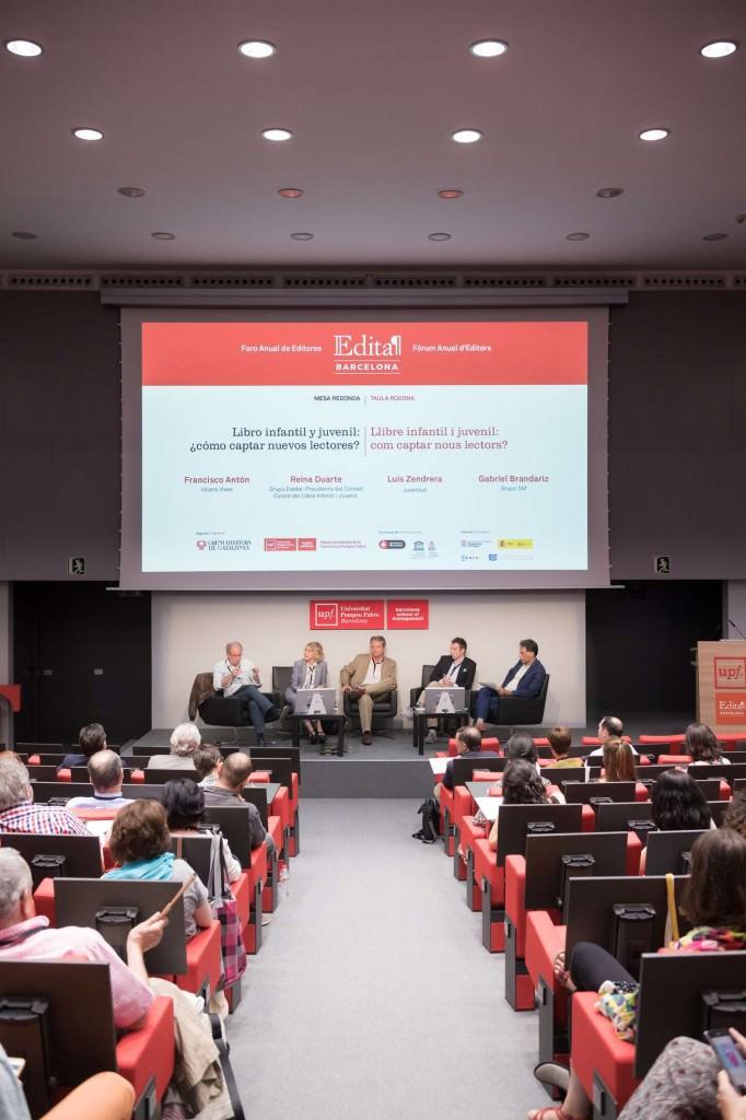 Un instante de la I edición de Forum Edita Barcelona. Fotografía cortesía de los organizadores.