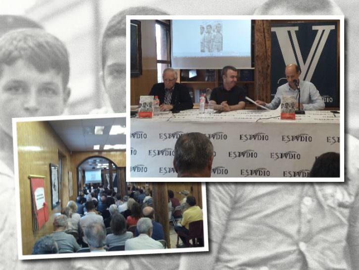 Lorenzo Silva en su presentación del libro 'Recordarán tu nombre'. Imagen cortesía de Librería Estvdio.