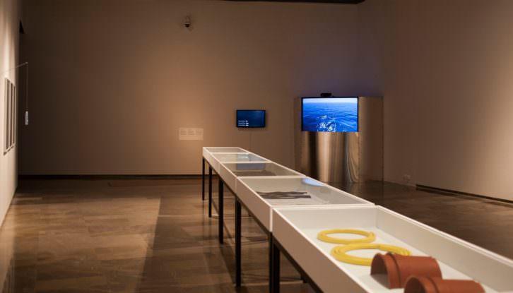 Vista de la exposición de Hugo Martínez-Tormo. Imagen cortesía del Centre del Carme.