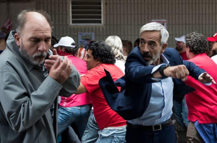 Fotograma de la película 'Despido Procedente', de Lucas Figueroa.