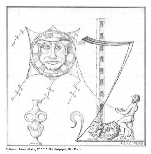 Obra de Guillermo Pérez Villalta. Imagen cortesía de Gema Llamazares.