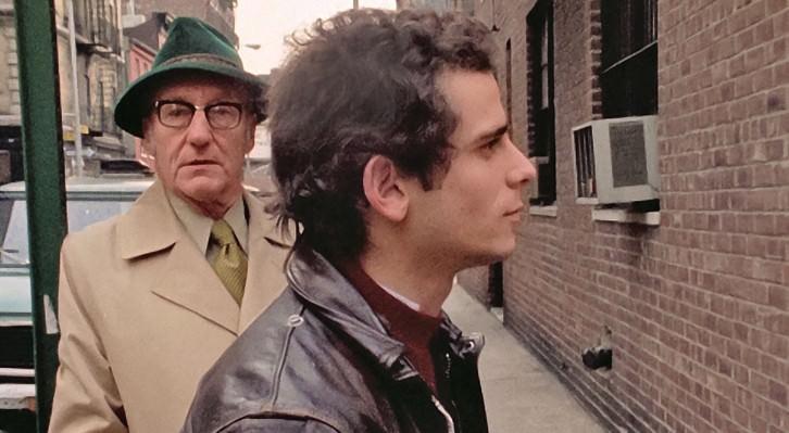 Fotograma de William Burroughs y Howard Brookner durante el rodaje de 'Burroughs: The Movie'. Fotografía cortesía de la distribuidora.