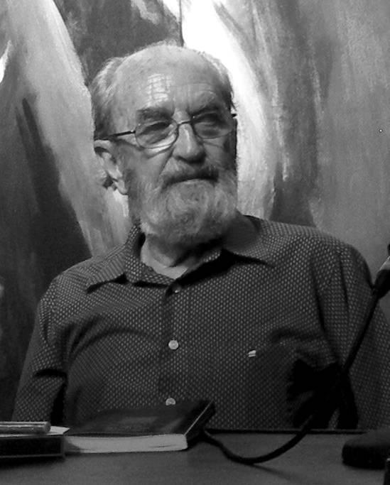 Imagen del poeta asturiano Ángel González, fallecido en 2008, a quien la Semana Negra rinde homenaje, Fotografía cortesía del festival.