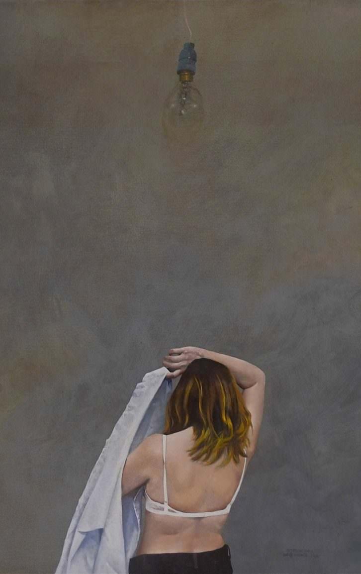 Obra de Javier Lorenzo. Imagen cortesía de Llotja Sant Jordi.